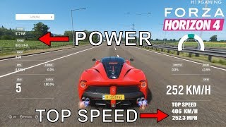 Download TOP 10 Fastest Cars in Forza Horizon 4 | TOP SPEED & Insane Accelerations! Video