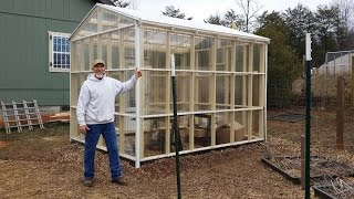 Download Awesome DIY Greenhouse ! Take a tour with me & see the ventilation in action! Video