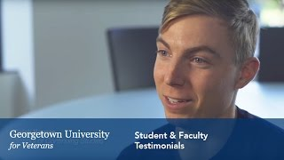 Download Georgetown Veterans Office: Faculty & Student Testimonials Video