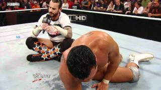 Download Raw - CM Punk forces Alberto Del Rio to agree to a WWE Title Match at Survivor Series Video