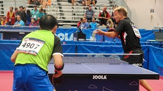 Download 2018 World Veteran Championships Table Tennis - Singles Semis & Finals - Table 7 Video