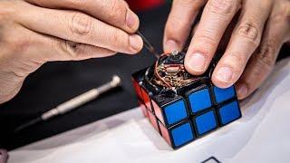 Download Self-Solving Rubik's Cube Robot! Video