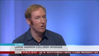 Download Dr Simon Jolly discusses CERN'S new particle generator on BBC World News May 2017 Video