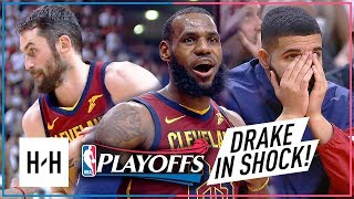 Download LeBron James & Kevin Love EPIC Game 2 Highlights vs Raptors 2018 Playoffs ECSF - SHOCKED Drake! Video