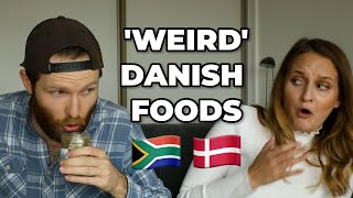 Download SOUTH AFRICANS TRY 'WEIRD' DANISH FOOD! Video
