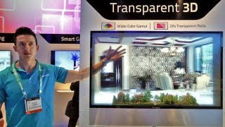 Download Amazing See-Through LED Display for Transparent 3D (CES 2013) Video