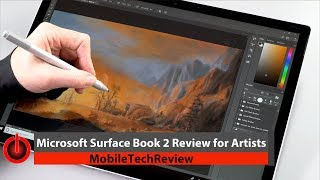 Download Surface Book 2 for Artists Review Video