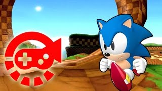 Download 360° Video - Run With Sonic, Green Hill Zone Video