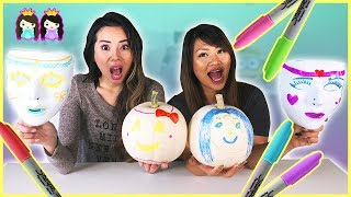 Download 3 Marker Challenge! Halloween edition Switch Up with Princess ToysReview Video