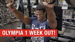 Download Breon Ansley 1 Week Out – Road to Olympia 2018 Video