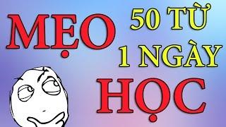 Download Bí kíp HACK NÃO học 50 từ vựng tiếng Anh - 1 ngày | Dang HNN Video