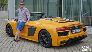 Download This ABT R8 Spyder Sounds EPIC! Video
