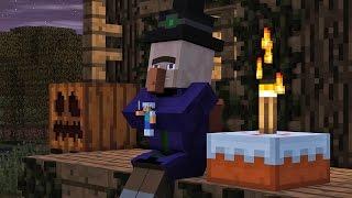 Download Villager & Witch Life 2 - Alien Being Minecraft Animation Video