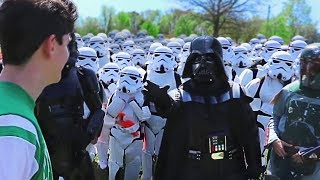 Download Walking Up To Random People With 100 StormTroopers Video