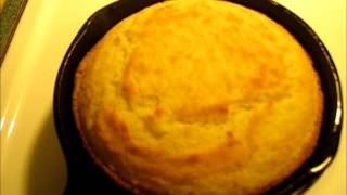 Download CRISPY SOUTHERN BUTTERMILK CORNBREAD from an IRON SKILLET - CAST IRON SKILLET CORNBREAD RECIPE Video