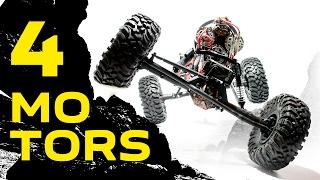 Download making 4 MOTOR mount for RC crawler Video