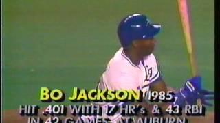 Download 1986 Bo Jackson 1st hit Video