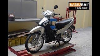 Download Samurai Repaint of Honda Wave125 Video