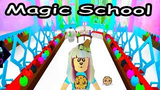 Download Going To Magic School - First Day Of Enchantix High - Roblox Cookie Swirl C Let's Play Video