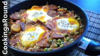 Download Portuguese Chorizo Egg Casserole Recipe Video