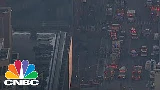 Download New York City Police Confirm Explosion In Port Authority | CNBC Video