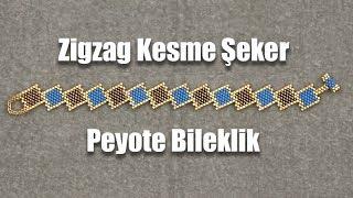 Download Zigzag Kesme Şeker Peyote Bileklik Video