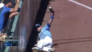 Download MLB Amazing Foul Catches Video