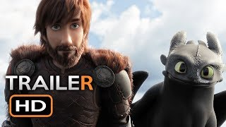 Download How To Train Your Dragon 3 Official Trailer #1 (2019) The Hidden World Animated Movie HD Video