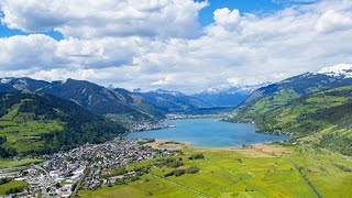 Download Summer in Zell am See-Kaprun from above [4K] Video