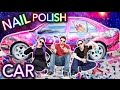 Download Painting a Car With NAIL POLISH ft. Threadbanger Video