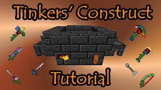 Download Tinkers' Construct Tutorial - Basics to Endgame Tools & Weapons Video