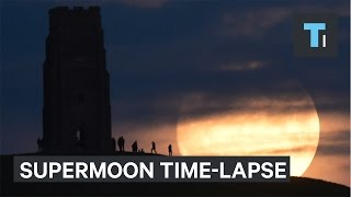 Download Watch a time-lapse of last night's stunning supermoon Video