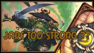 Download Hearthstone: Jade too strong?? (jade druid) Video