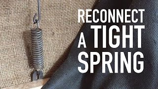 Download How to Stretch a Tight Spring (tension spring) Video