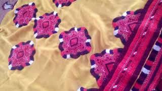 Download rare seen balochi embroidery Video