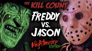 Download Freddy vs. Jason (2003) KILL COUNT [Special NIGHTMARE Edition] Video
