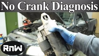 Download How to Diagnose a No Crank No Start Issue - Nothing or only a Click When the Key is Turned Video