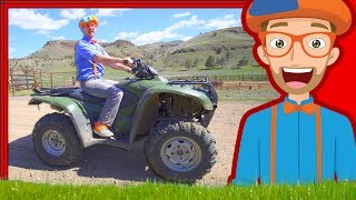 Download Blippi on the Ranch with Horses | and More Videos 1 HOUR! Video