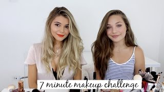 Download 7 Minute Prom Makeup Challenge ft. Maddie Ziegler! l Olivia Jade Video