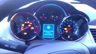 Download Cruze TD 2014 Cold Start at -18C Video