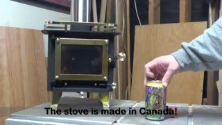 Download Cubic Mini Wood Stove Unboxing & First Fire Video