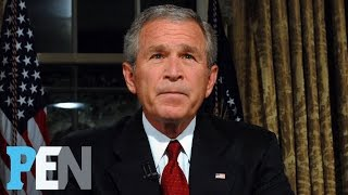 Download George W. Bush On Donald Trump, Michelle Obama, 9/11 & Much More | PEN | Entertainment Weekly Video