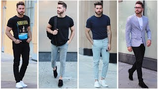 Download 4 EASY AND AFFORDABLE SUMMER OUTFITS | Men's Summer Lookbook 2017 | Mens Fashion Video
