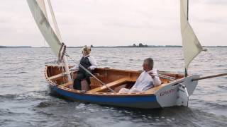 Download Two Luggers At Play | Wooden Boats Sailing & Rowing Video