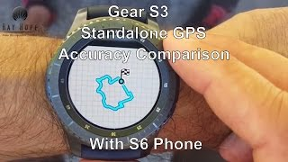 Download Samsung Gear S3 Standalone GPS Accuracy Comparison with S6 Phone GPS review Video