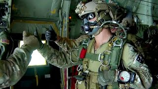 Download U.S. Army Special Forces Green Berets - High Altitude Jump Video