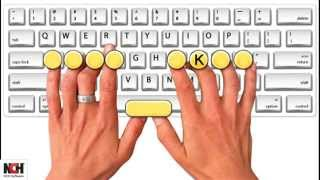 Download Learn the basics of touch typing with KeyBlaze Video