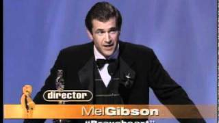 Download Mel Gibson winning the Oscar® for Directing Video