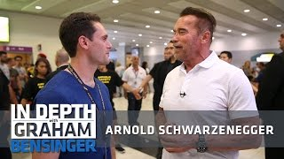 Download Arnold Schwarzenegger: Taking Donald Trump's job Video