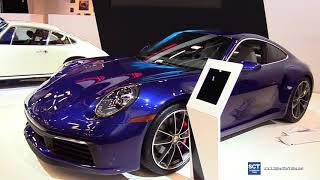 Download 2020 Porsche 911 Carrera 4S - Exterior and Interior Walkaround - 2019 Montreal Auto Show Video